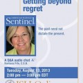 Q & A Chat:  Getting beyond regret.